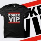 PokerVIP 'Run' T-Shirt - Black