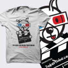 PokerTube 'Top Dogs' T-Shirt - White