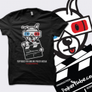 PokerTube 'Top Dogs' T-Shirt - Black
