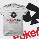 PokerTube 'Play' T-Shirt - White