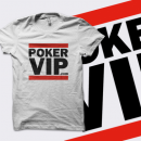PokerVIP 'Run' T-Shirt - White